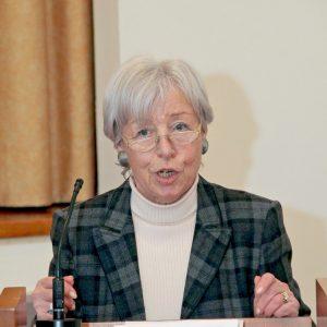 Marie-Luise Morawietz, auf dem letzten Neujahrsempfang des OV Viersen (2012)