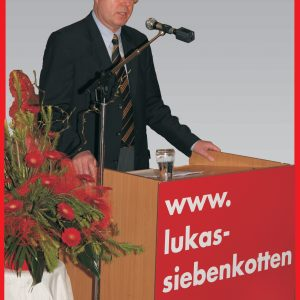 Ministerpräsident PEER STEINBRÜCK