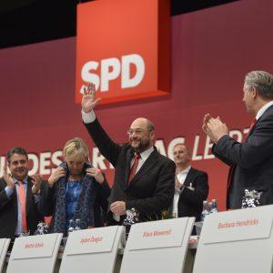 SPD-Parteitag in Leipzig