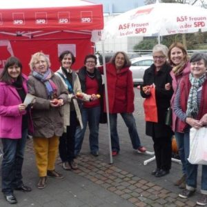 AsF Viersen beim EQUAL PAY DAY 2014 in VIERSEN