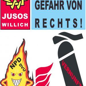 Jusos Willich GEGEN RECHTS