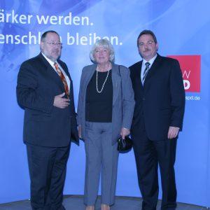 Walter Schöler(MdB) - Udo Schiefner - Renate Schmidt (Bundesministerin)