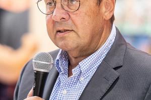 Sigmar Gabriel auf der Frankfurter Buchmessen